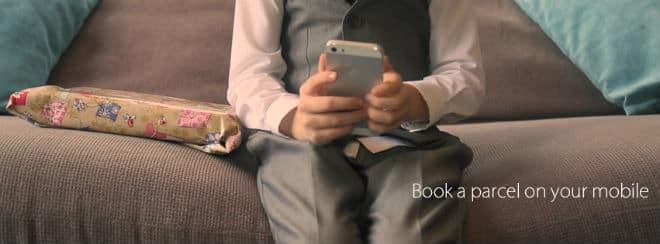 ipostparcels book on your mobile