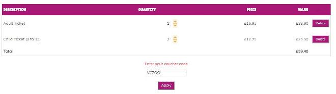 paignton zoo discount code