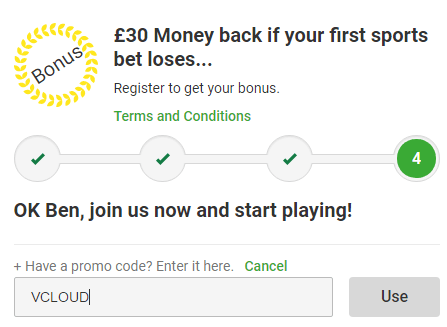unibet voucher codes