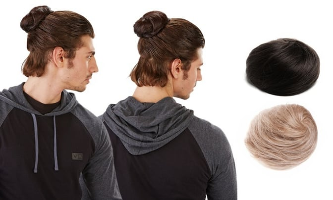 Groupon Man Bun