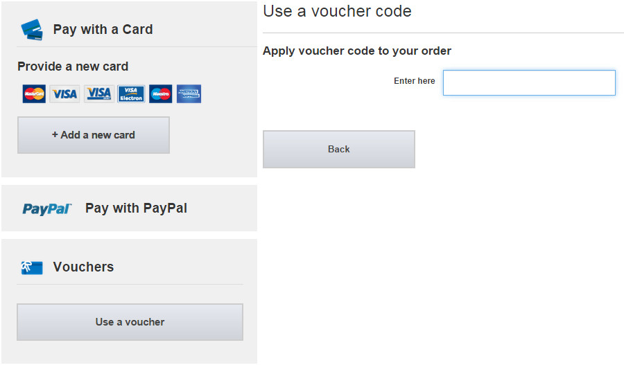 How to use a USC voucher code