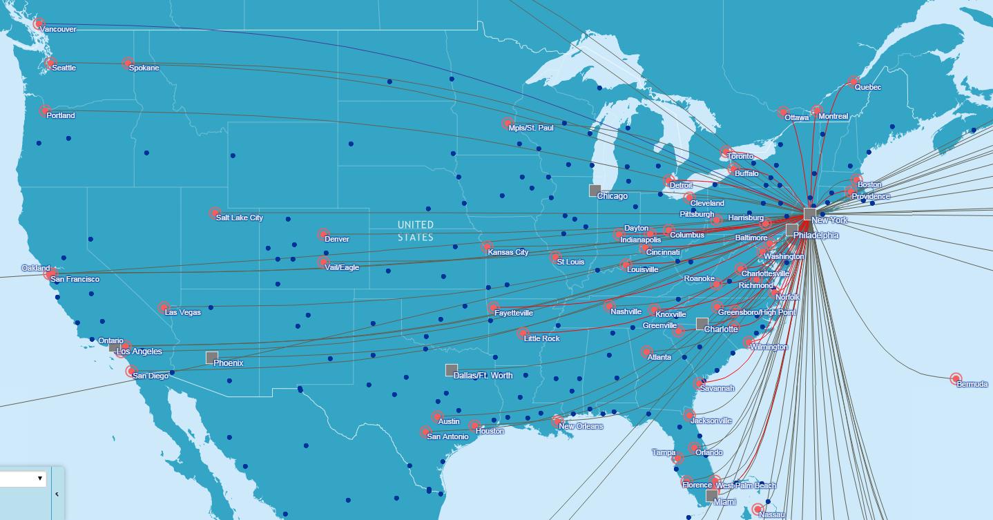 NYC Flight Map