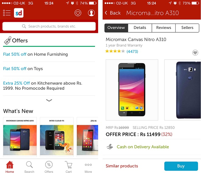 64140c9b7d9 Snapdeal Voucher Codes and Offers 2019