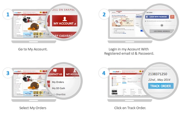 Track Your Order on Snapdeal