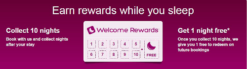Welcome Rewards - Hotels.com