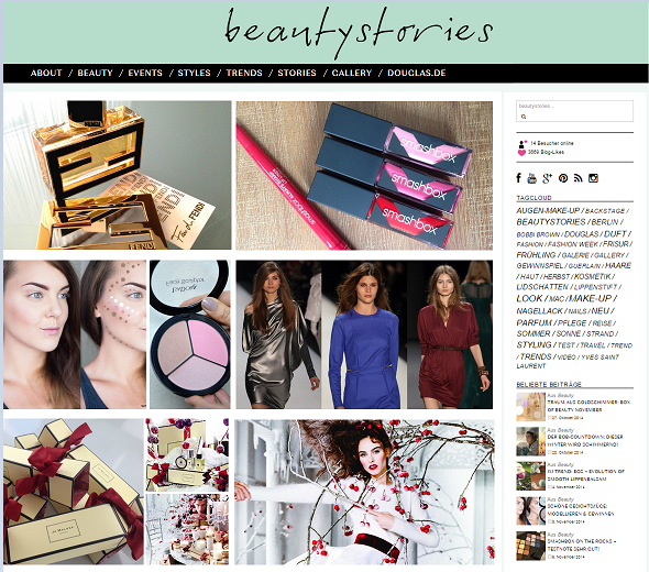 Beauty Sories - Der Douglas Blog