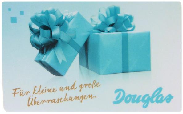 Douglas Geschenkkarten