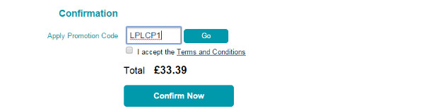 Liverpool airport promotional code