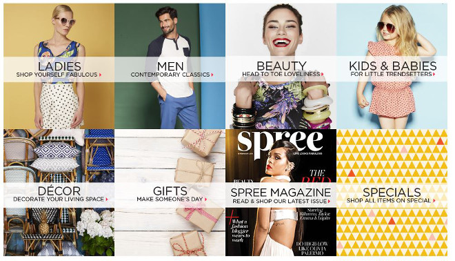 Spree Homepage