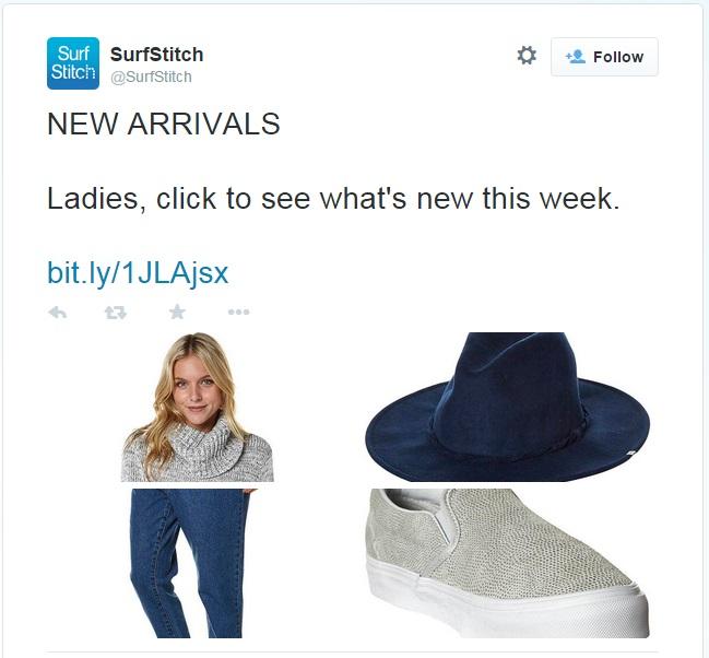 Surfstitch Twitter